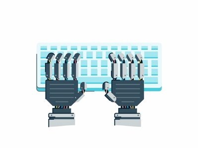 Automate Process safe robotic power plugs partnership outline keyboard illustration icon set icons handshake gif control financial electricity data connection services automate arms