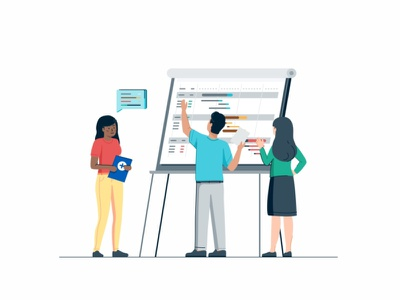 Implementation website page web user ui tecnology statistic sign up peoples interface gradient success customer coworking connection collaboration coder cloud characters business people