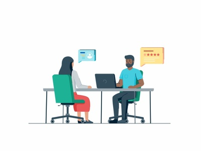 Recruitment Support web website web page user ui tecnology statistic sign up peoples interface gradient success customer coworking connection collaboration coder cloud characters business people