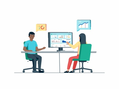 Statistical Research website web page web user ui tecnology success statistic sign up resercing peoples interface customer coworking connection collaboration coder cloud characters business people