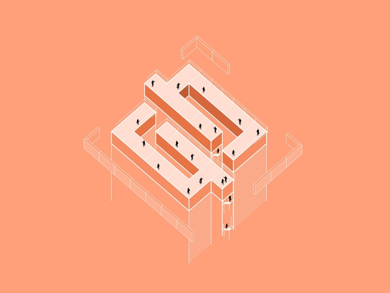 Contraction Neopix business construction building structure peoples visual ui system revamp rebrand logo animation logo illustration identity design branding agency branding brand identity brand