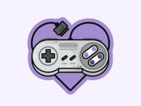 Super Nintendo ❤️ time videogame super retro outline nintendo switch nintendo nes mini nes love icon set icons gameboy game consoles snes nintendo 64 controller console 90s
