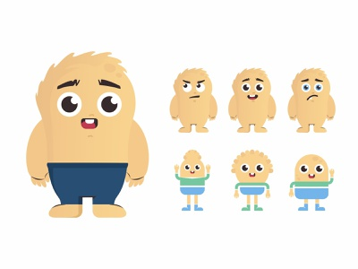 Final Characters game art emoji avatar monster cute vector 2d create smile face illustration sketch drawing draw art concept design character cartoons cartooning