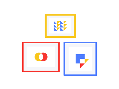 Image triangle squarel outline web simple animation symbol vector geometric 2d design illustration branding shape frame image picture icon set icons