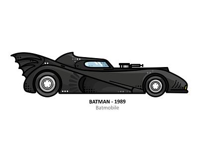 Batmobile vintage vehicle vector the dark knight superhero retro nostalgia movie line illustration icon hero batman design dc comic car batmobile 1966 batman
