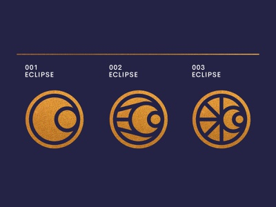 Eclipse web ui ux system stars star space eclipse rocket planet outerspace moon landing page icon set gradient galaxy discover cosmos abstract