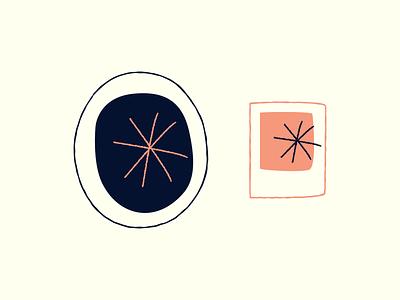 Frame set icons icon picture image frame shape branding illustration design 2d geometric vector symbol abstract simple web outline squarel brush