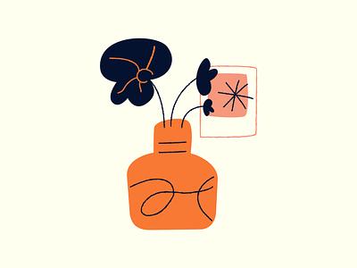 Plant simple set icons icon picture image frame shape branding illustration design 2d geometric vector symbol abstract leaves plant outline flower brush