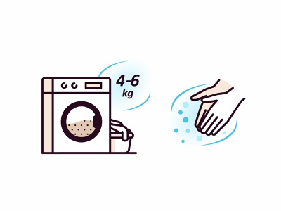 Laundry vector corona cleaning gesture hands design branding iconography icon set icon bathroom washing machine laundry illustration flat detergent water environment