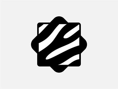 Zebra mark stripe line pattern icon safari africa minimal shape beautiful design identity black logotype logo branding zebra horse animal