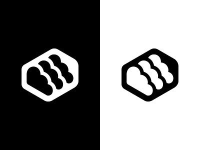 Cloud data greed sketch servers speed symbol data mark logo branding minimal design identity brand icon cloud connect hosting startup clouds