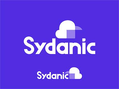 Sydanic sketch typo font geometric consulting spaceship icon letter fly space rocket logo symbol mark identity typography logotype design illustration monogram branding