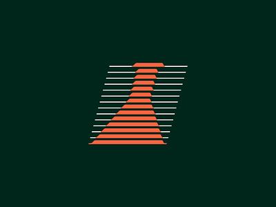 Flask sound logotype identity typography monogram symbol logo mark line design branding erlenmeyer flask illustration illustrator scientist fiole laboratory science