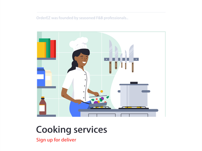 Cooking Services stickers minimal character web simple animation symbol vector pin delivery design illustration branding message chat locationt map icon set icons