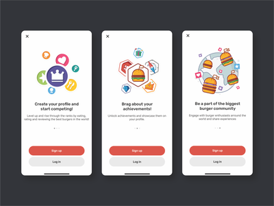 TBC cards interface explorer data ok location hands phone star card planet flat outline illustration vector iconography apps icons icon ui ux