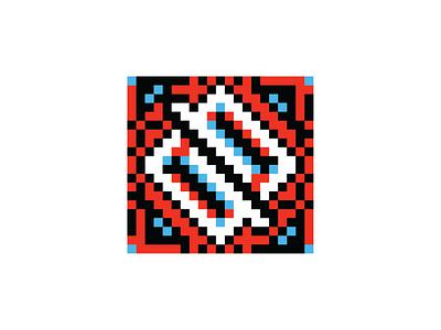 Neopix Etno slavic serbia logo etno branding pattern traditional shapes abstract simple brand identity symbol geometric flat modernist icon design illustration