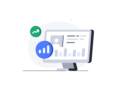Reporting Analytics video chat cloud message branding design 2d vecor web price ui ux technology database interface pricing destop statistic data