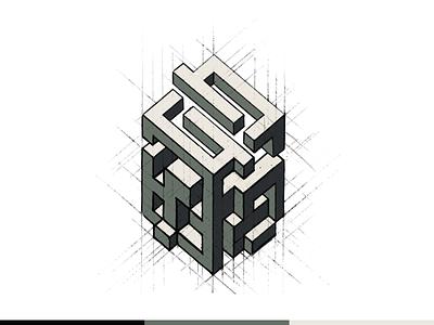 Neopix Cube brand agency branding system design rebrand revamp ui ux abstract visual identity cube symbol mark exploration logo