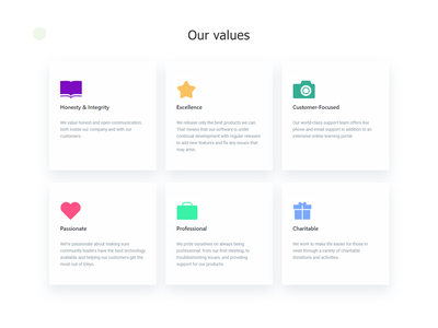 Our values simple minimal collection design product cards iconography aplication symbol icon set icons web ui ux vector branding brand flat outline