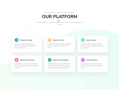 Our platform simple minimal collection design product cards iconography aplication symbol icon set icons web ui ux vector brand branding flat outline interface