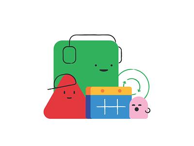 JBU Calendar date upload emoji set branding emoji cute characters message chat cloud illustration design icon bubble emoticons social media vector mascot cartoon calendar