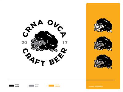 Craft Beer mascote beers ipa ipa beer craft beer beer black sheep animal mark icon icon set branding illustration vector cool black cute sheep shape