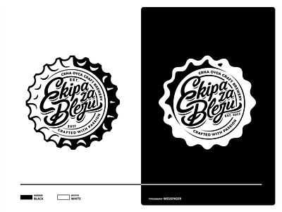 Ekipa za Bleju caps design illustration vector branding icon set mark logo ui ux typographic typface typo font letters beer craft beer cap cap craft beer