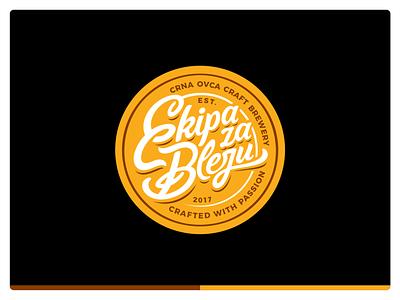 Ekipa za Bleju cap illustration design icon mark cap vector branding icon set logo ui ux typographic font typo typface letters beer craft craft beer