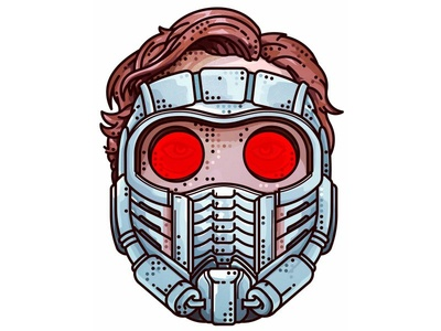 Guardians Of The Galaxy 2014!! Star Lord, Peter Quill!! hero super future portret galaxy guardians peter star lord marvel movie