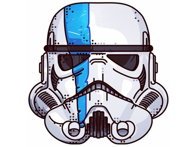 Star Wars!! Stormtrooper!! imperial joda jedi sith probe design portret stormtrooper space boba fett wars star