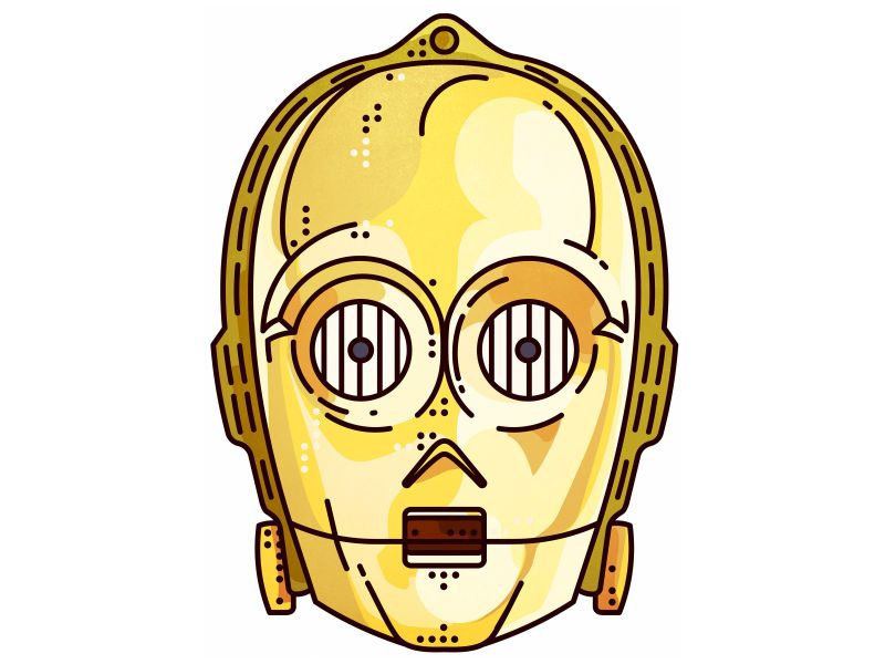 Starwars C 3po By Aleksandar Savic On Dribbble