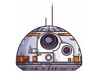 Starwars!! BB-8!!