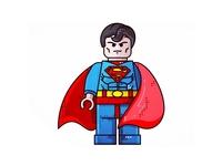 Superman !!  Lego !!