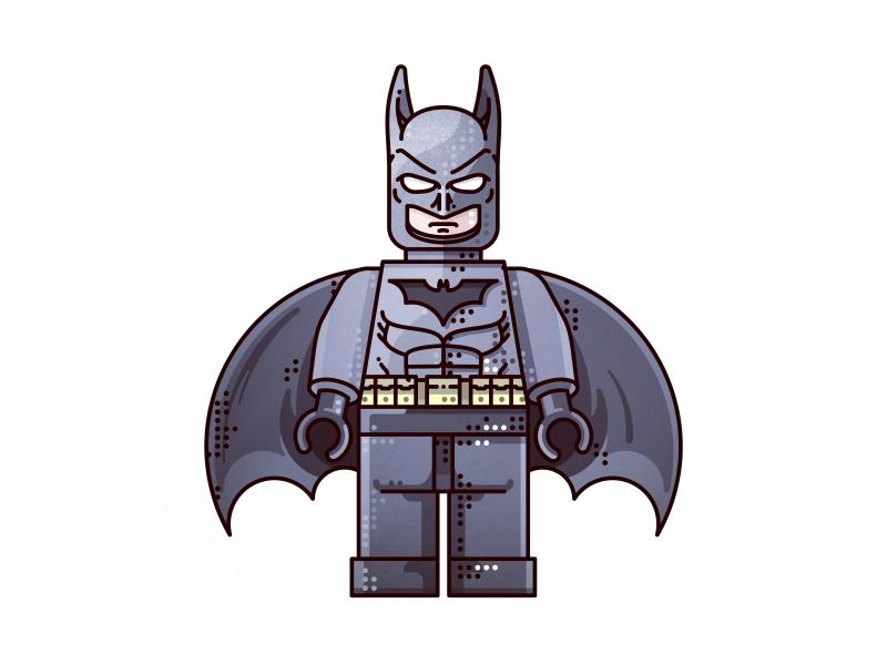 Batman !!  Lego !!  logo identity corporate batman bats batman superhero bat man abstract hero design studio graphic design identity design