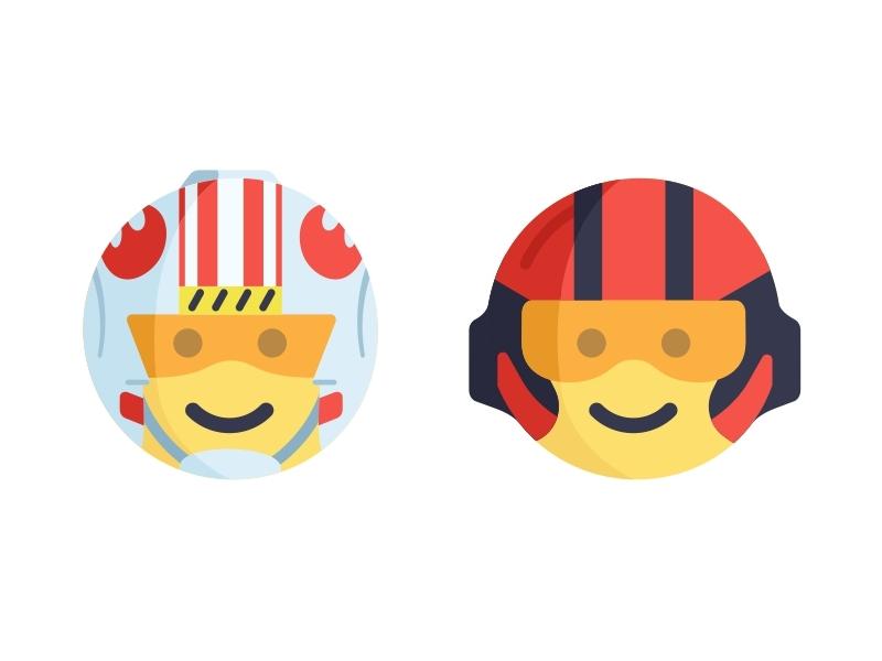 star wars emoji by aleksandar savic dribbble