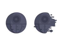 Star Wars Emoji DeathStar