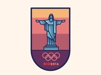 Rio 2016 Badge