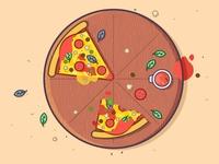 Love Pizza..😍🍕🍕🍕🍕🍕🍕🍕🍕