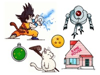 Dragonball Illustrations