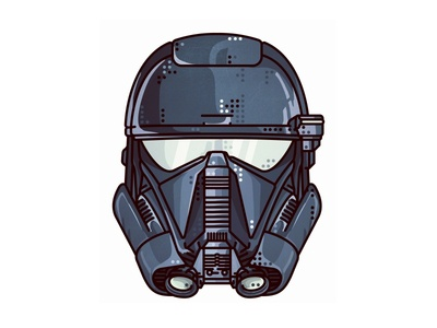 Rogue One Deathtrooper star wars icon space stormtrooper portret rogue one darth vader sith rogue helmet deathtrooper