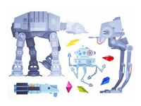 Starwars Illustrations