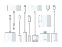 Apple connectors