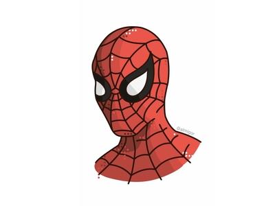Spiderman illustration line design character hero steveditko stanlee peterparker marvel marveluniverse comics comicbook