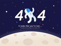 404 Space error