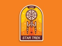 Star Trek badge 🏅