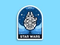 Star wars badge