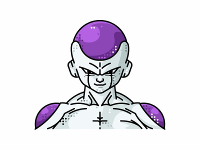 Frieza frieza friends dragonball goku illustration line vector piccolo character 2d animation avatar