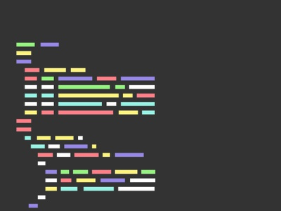 Coding vector graphics motion minimal line gif flat development css coding code animation