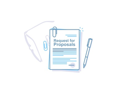 Procurement Solutionss glasses plan paper outline notebook map icons illustration document image clipboard pen