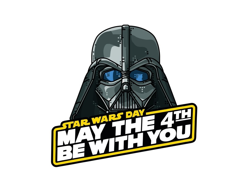 May The 4th Be With You! star wars boba fett space stormtrooper force awakens design darth vader sith jedi joda may the 4th
